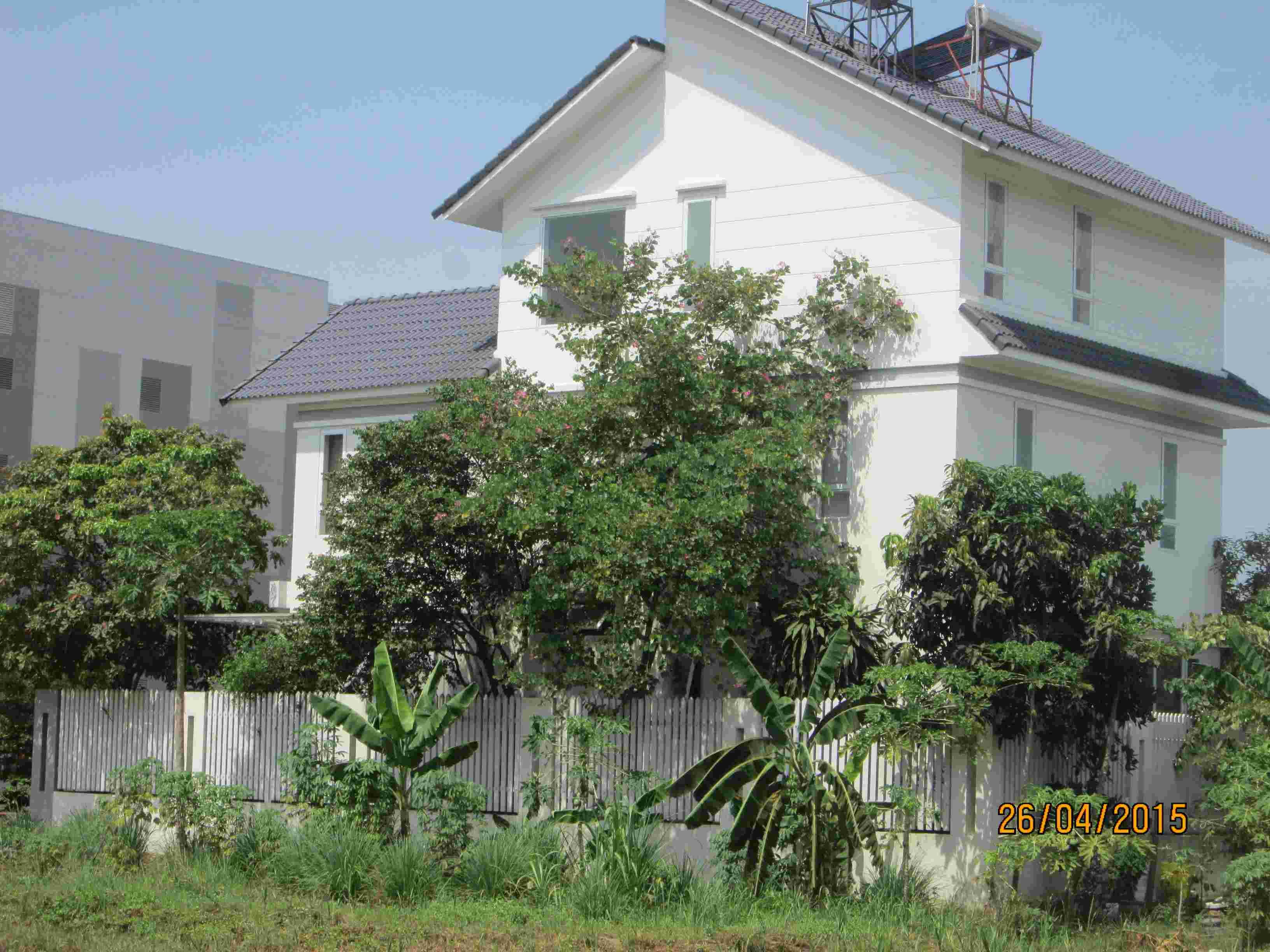 Bán đất biệt thự dự án Sadeco Nghỉ Ngơi Giải Trí, quận 7, nền A15, 237m2, giá 105 triêu/m2