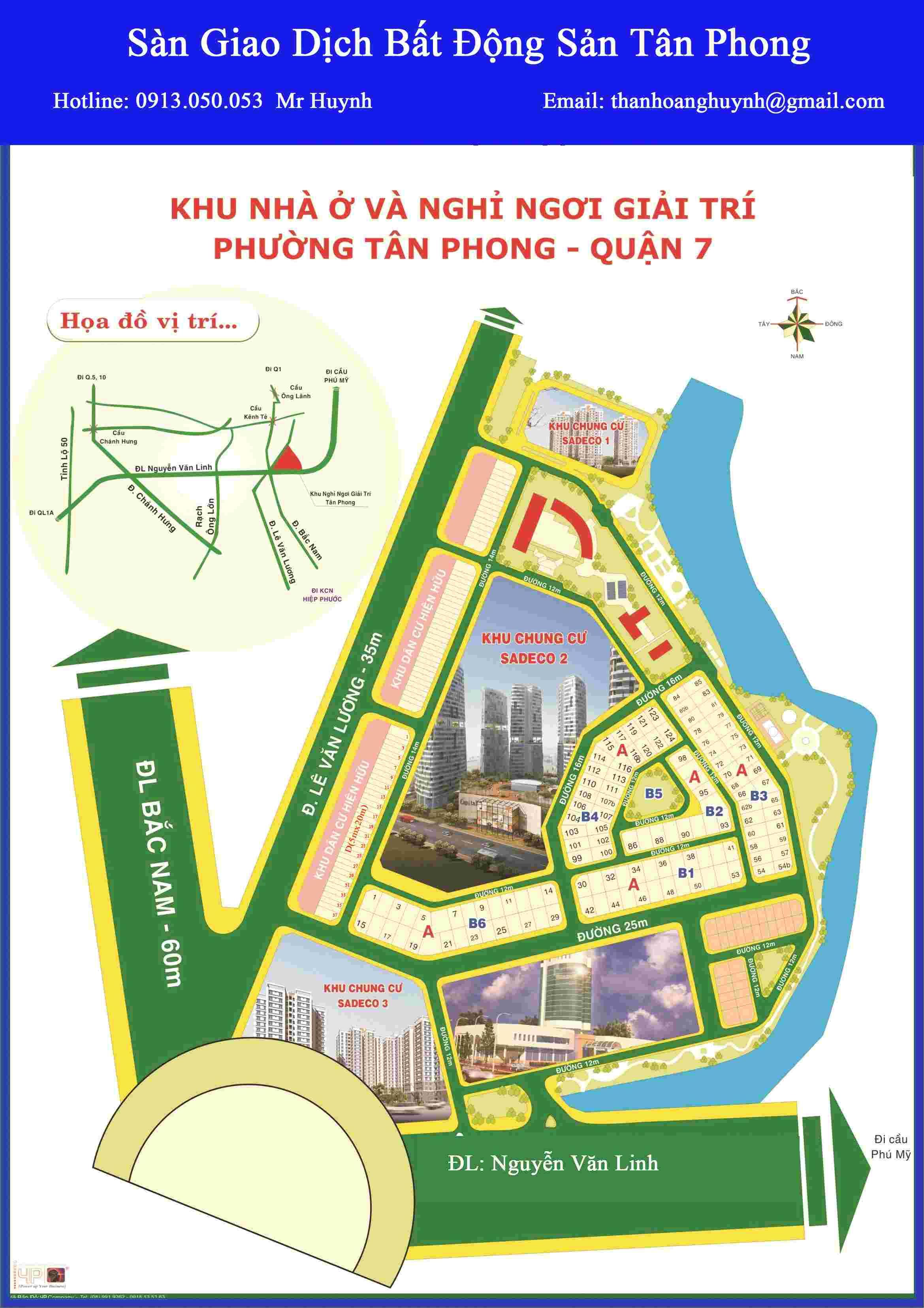 Bán đất biệt thự Nghỉ Ngơi Giải Trí, lô góc 2 MT đường 16m, cách cổng Vivo City khoảng 50m, vị trí cực đẹp, diện tích 237,5m2, giá 90 triệu/m2, đối diện trụ sở Argibank