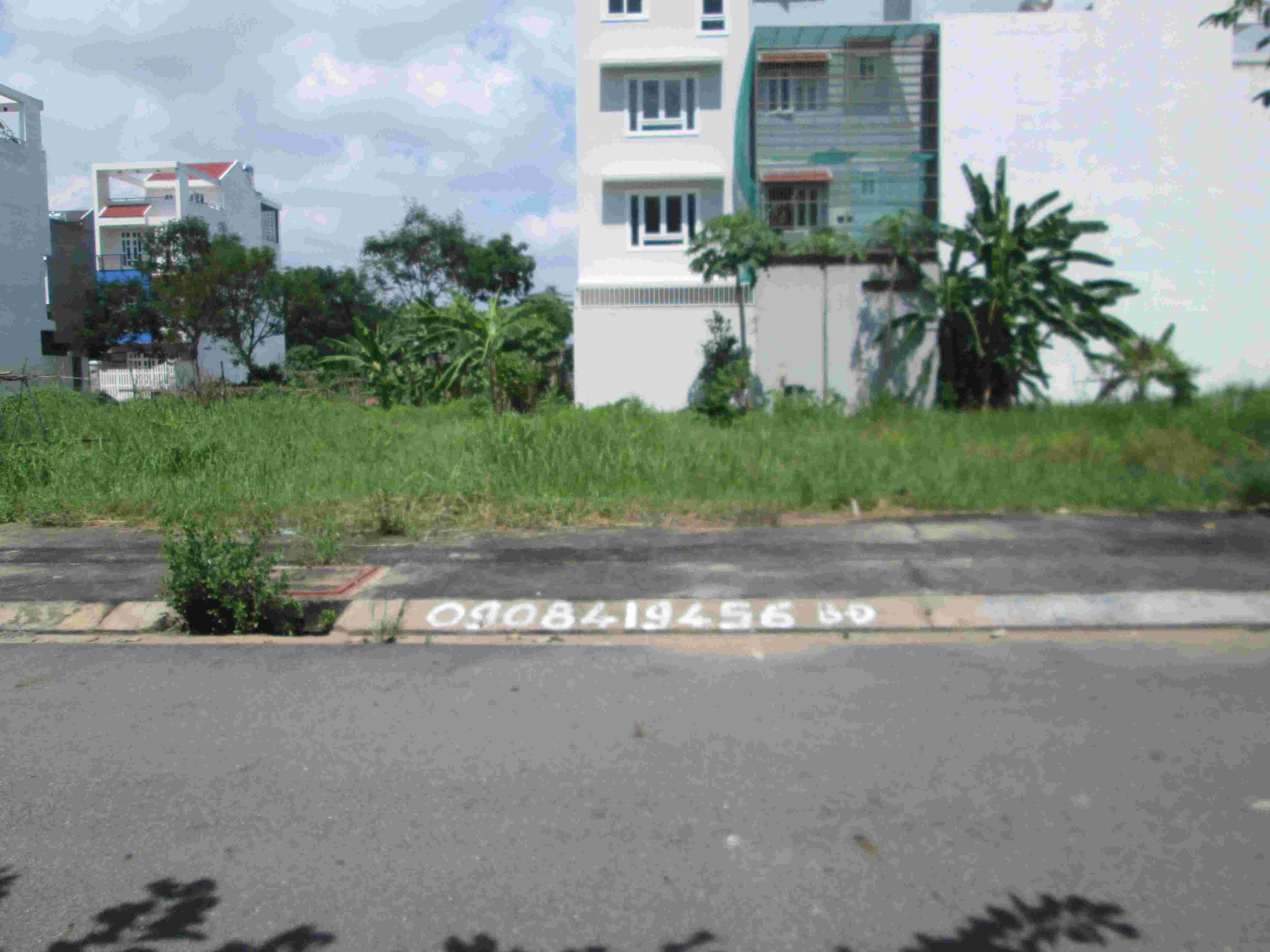Bán đất nền KDC Tân An Huy, Nhà Bè, lô B7, 210m2, MT đường 25m, giá 68 triệu/m2