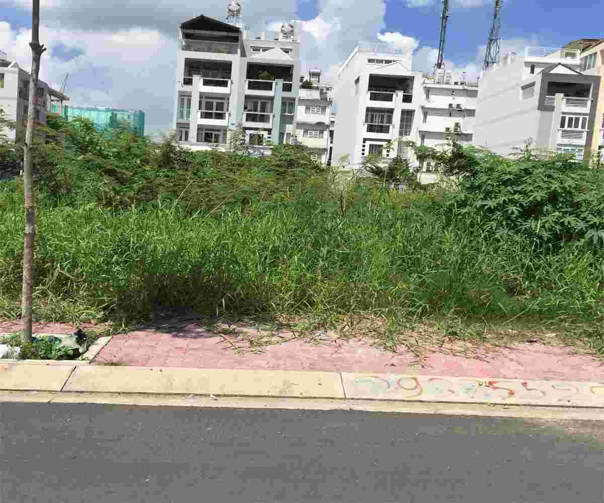 Bán gấp đất nền biệt thự dự án Kim Sơn quận 7, sổ đỏ, 200m2, nền A138, giá 78.5 triệu/m2. LH: 0913.050.053