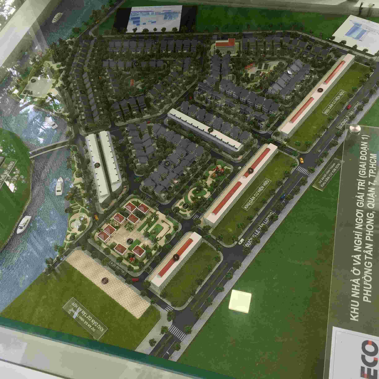 Cần bán đất biệt thự Sadeco Ngơi Giải Trí, lô A85, góc 2 mặt tiền,  giá 92 triệu /m2, view sông đối diện PHÚ MỸ HƯNG